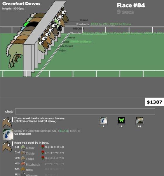 Social Horse Racing